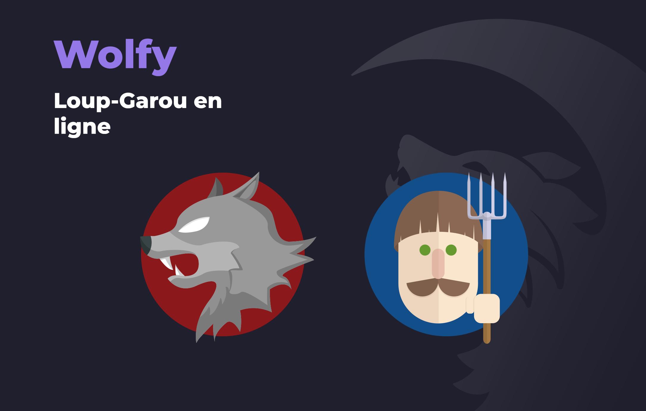Wolfy, loup-garou en ligne