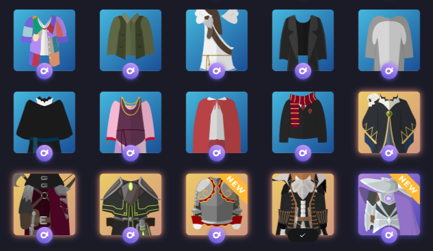 Items alpha