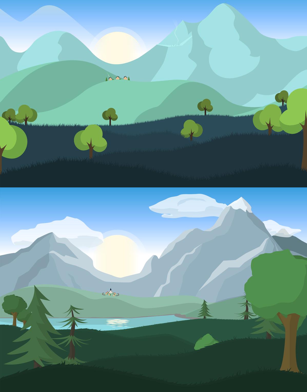 Comparaison des scènes de jeu LoupsGarous