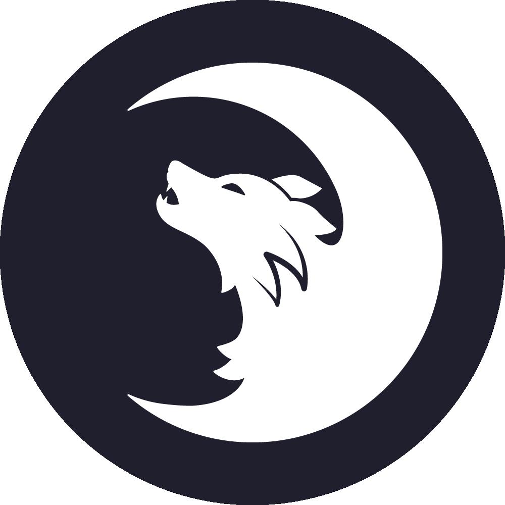 Logo de Wolfy, loup-garou
