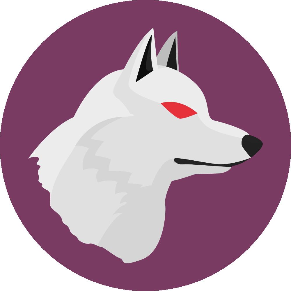 Loup blanc Wolfy