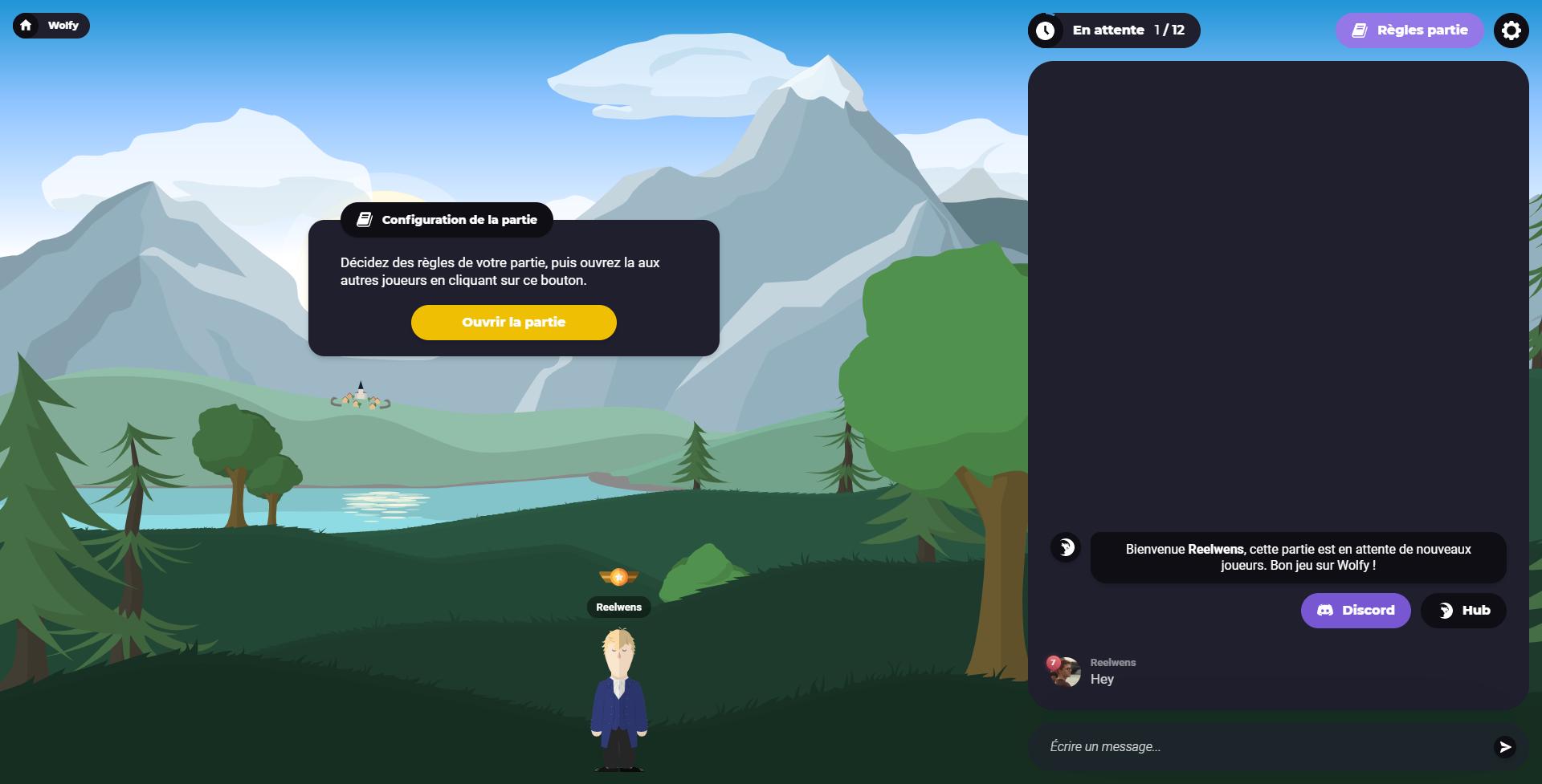 Nouvelle interface
