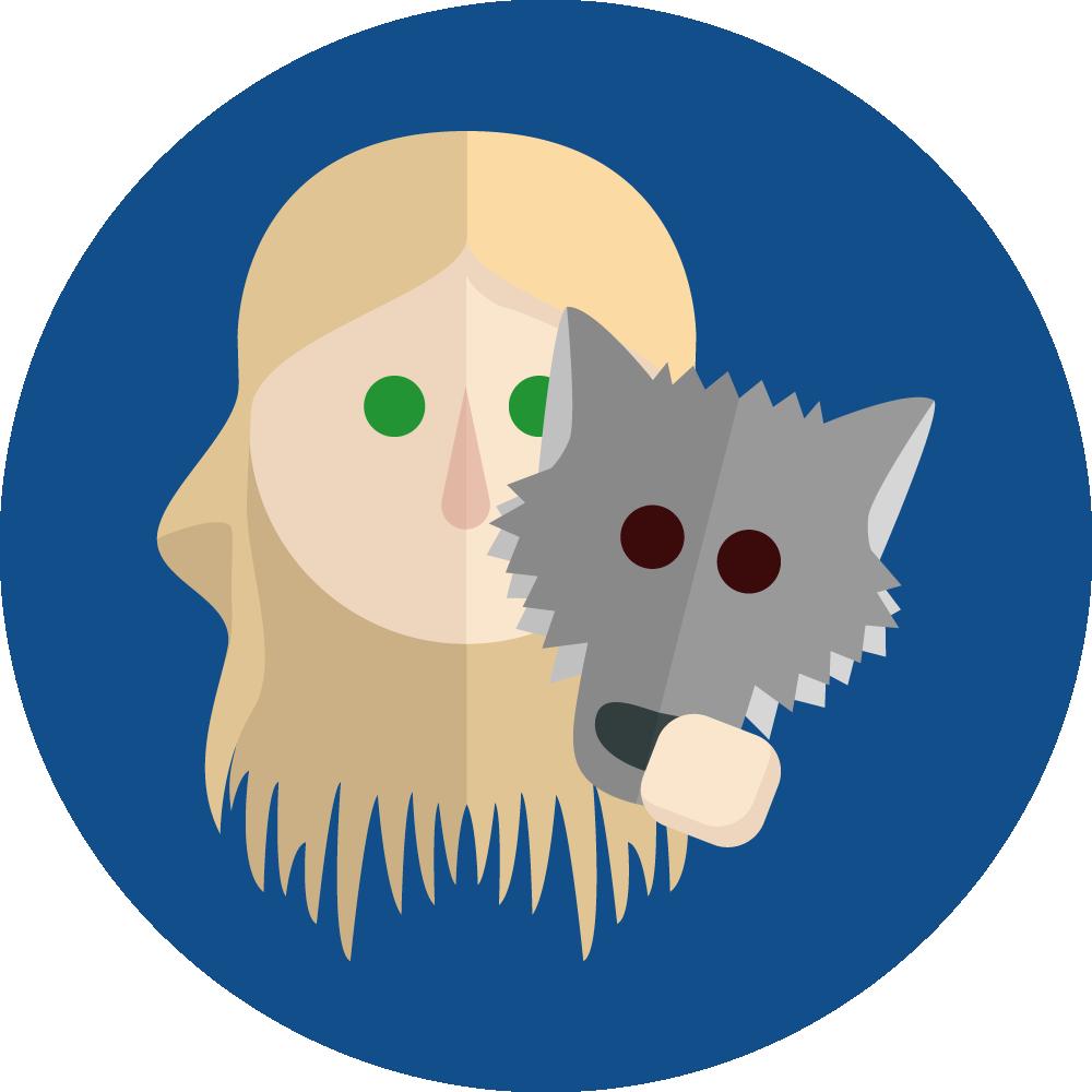 Petite fille Wolfy