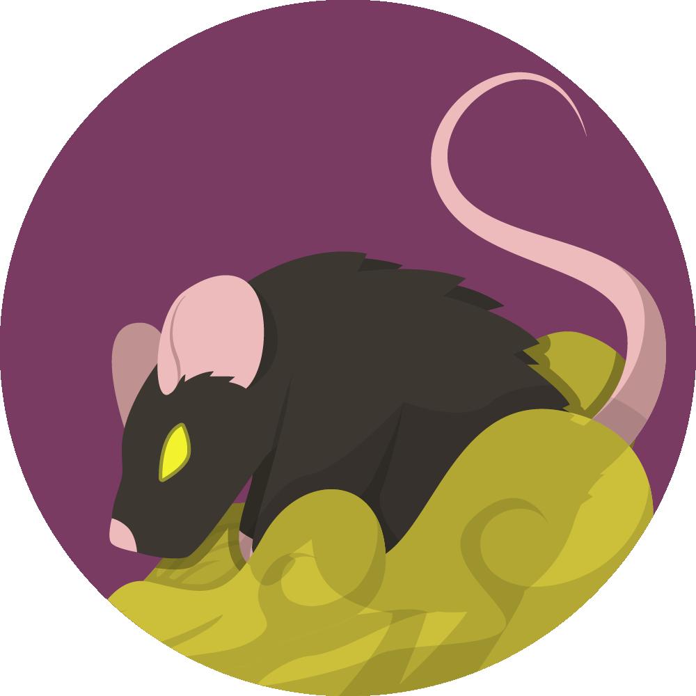 Rat malade Wolfy